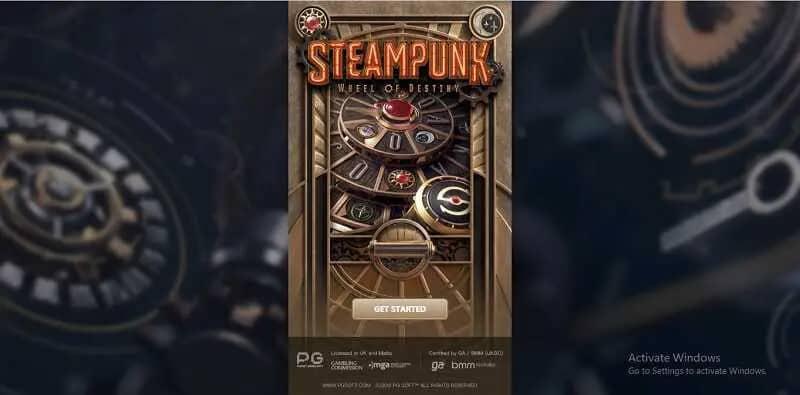 รีวิวเกมสล็อตออนไลน์ Steampunk: Wheel of Destiny